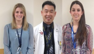 Left to Right Dr. Ali Kawola; Dr. Thien Pham; Ms. Erika Prouty