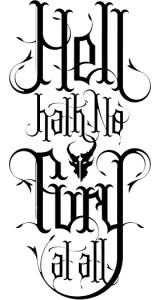 hellhathnofury